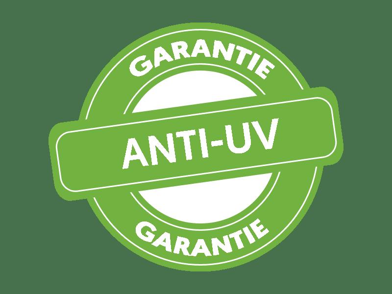Garantie anti-uv